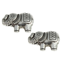 Metallpärlor elefant, ca13x9mm