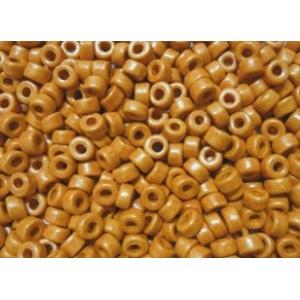 Keramikpärlor 6x4mm - Ljusbrun